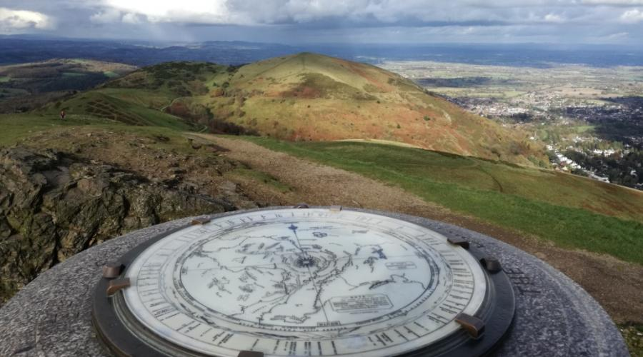 Topograph on Worcestershire Beacon