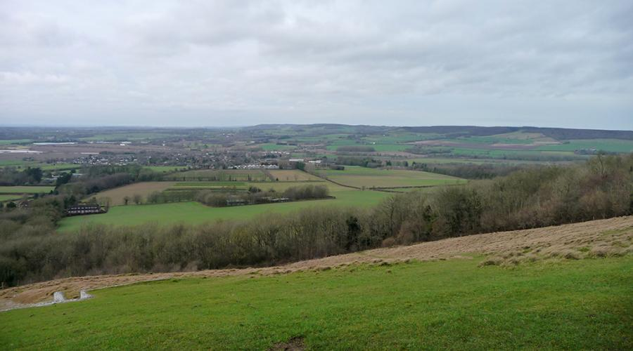 View from Wye Crown