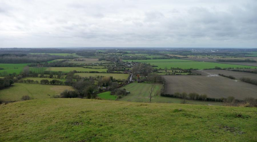 View from Wye Downs