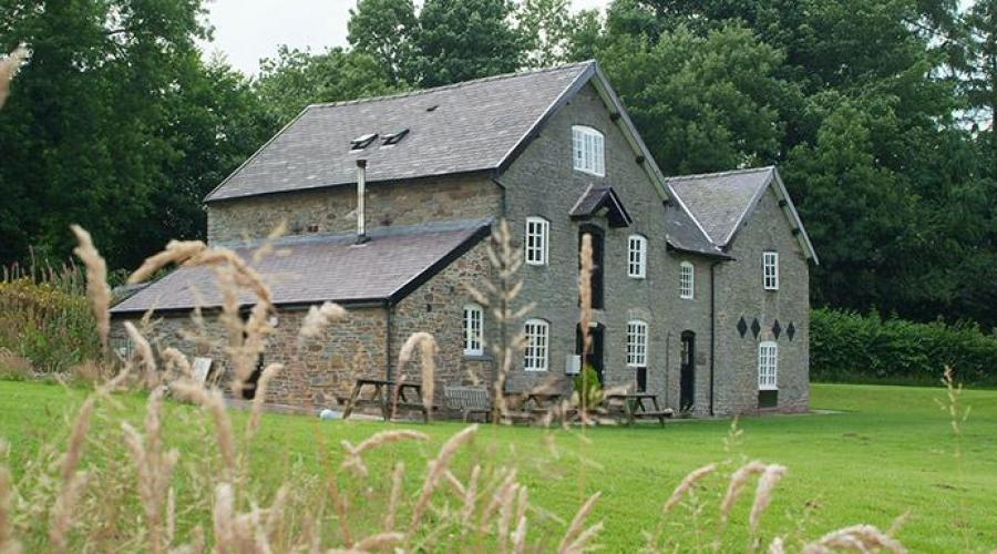 Clun Mill Youth Hostel - Our Home For The Weekend