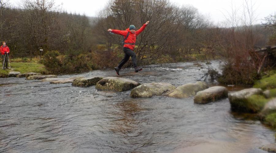 Dartmoor Stepping Stones fast 2 PFR