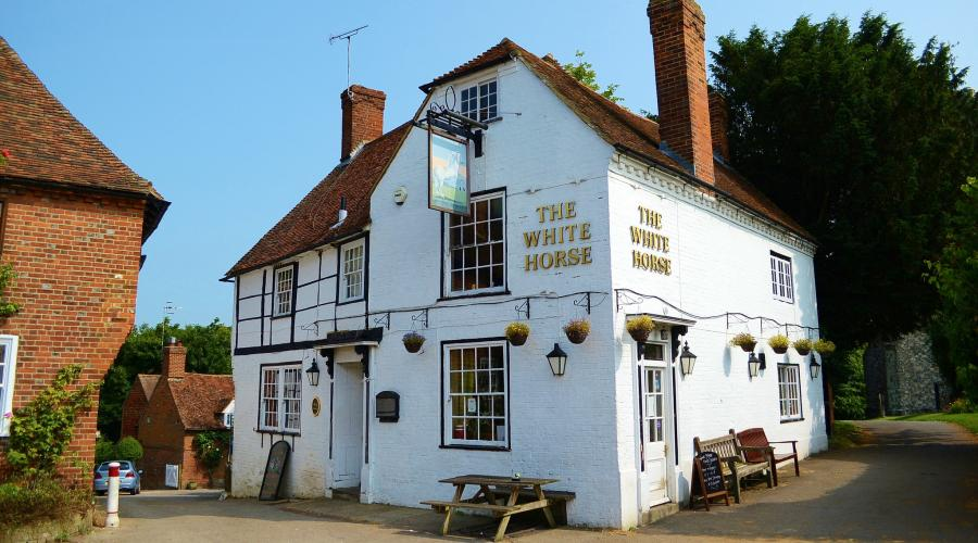 The White Horse pub, Chilham