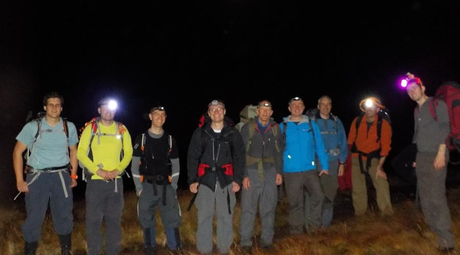Brecon Beacons Night Hike PFR