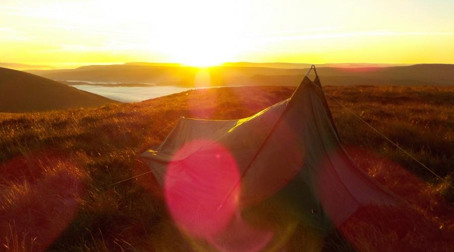Brecon Beacons Wild Camp Dawn