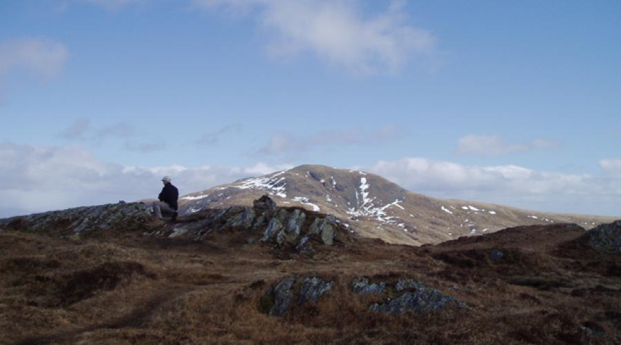 Beinn Each Summit