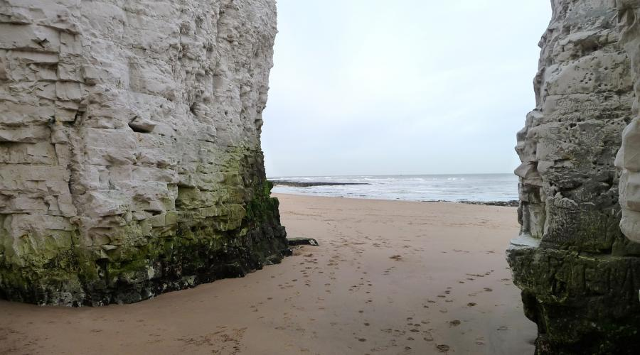 Botany Bay Chalk Stacks