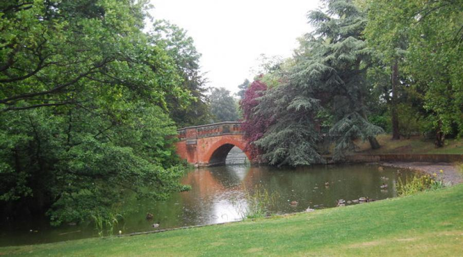 Lake at Cannon Hill Park Birmingham