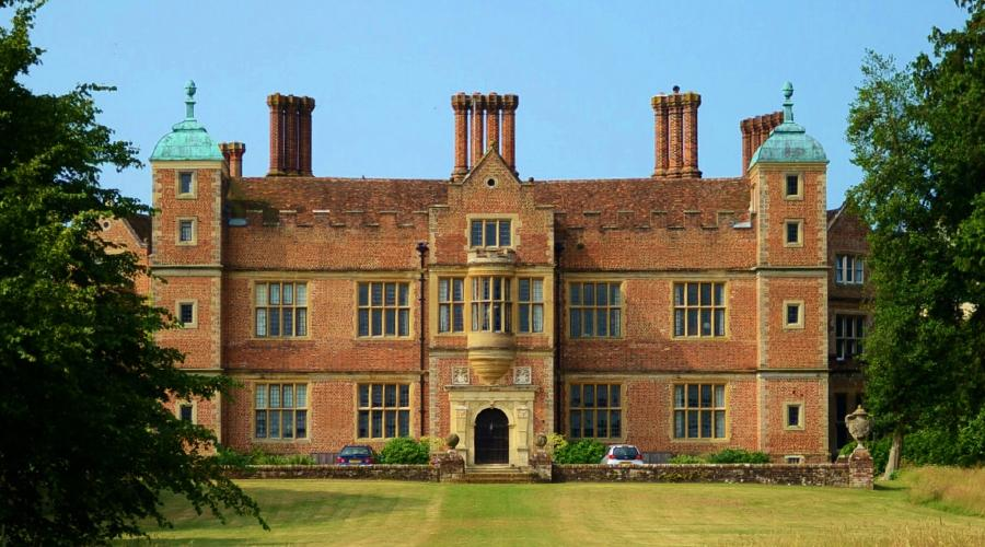 View of Chilham Castle, Kent