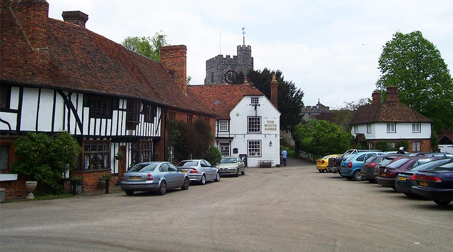 The Square, Chilham, Kent