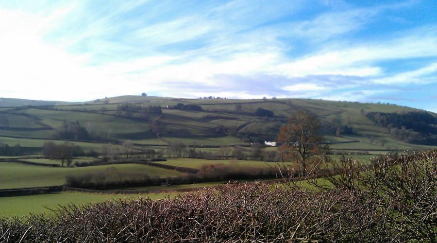 Shropshire hills, taken by Simon H in 2014