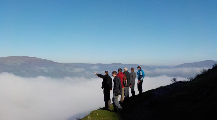 Brecon Beacons Llangattock Escarpment Cloud PFR