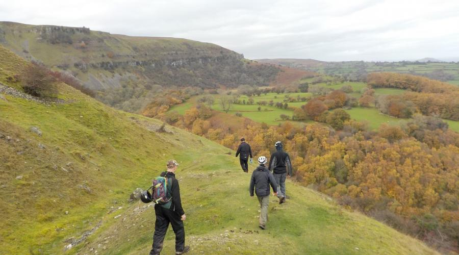brecon Beacons Llangattock Escarpment