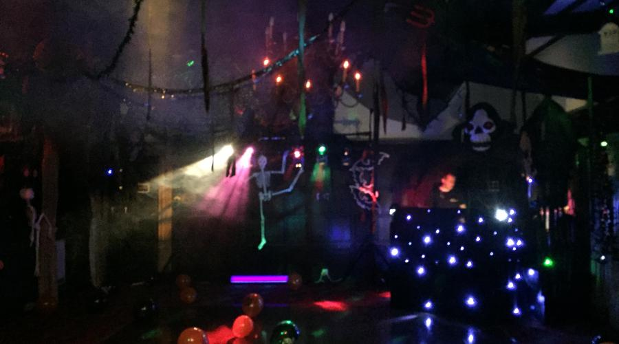 The Halloween Disco Dungeon