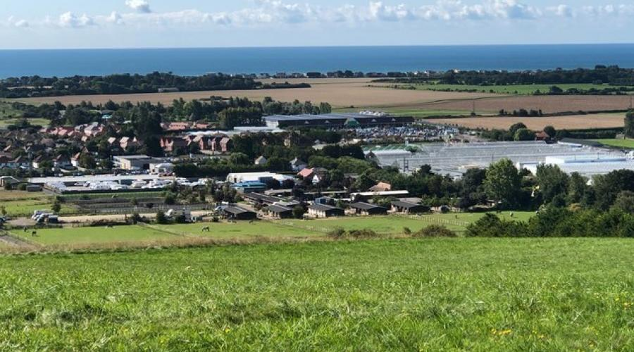 View from Highdown Hill