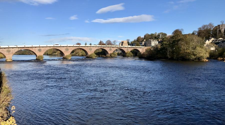 Bridge over the Tay at Perth