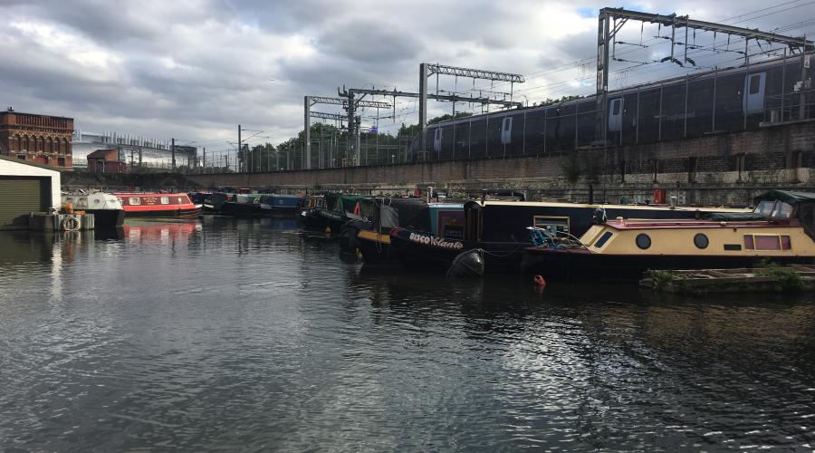 Boats on the London Canals