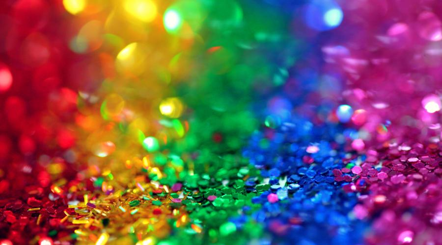 Rainbow of Sequins