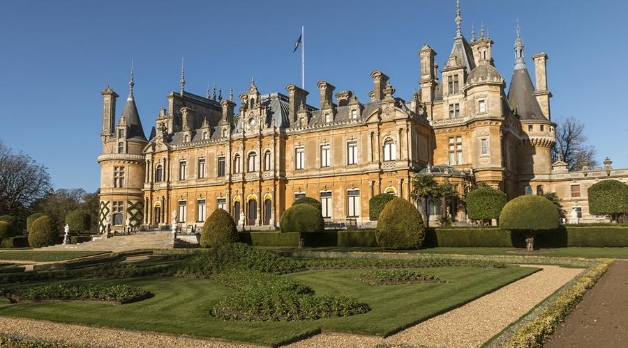 Waddesdon Manor viewed from the south