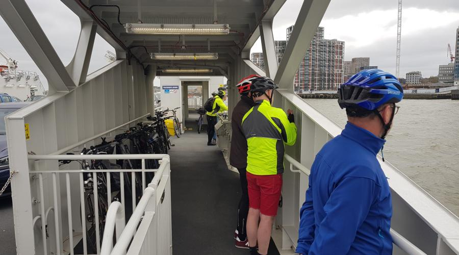 Woolwich Ferry Cyclists