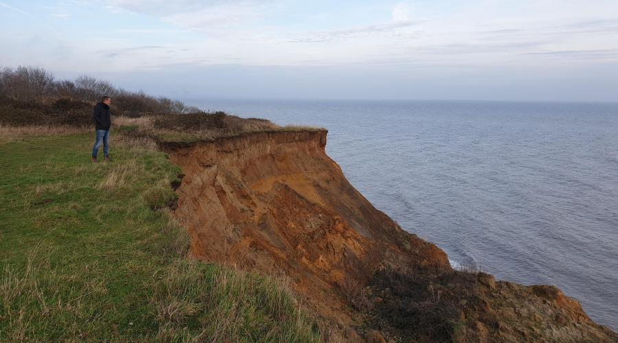 Walton-on-the-Naze Cliff