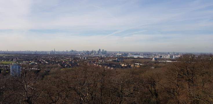 View from Severndroog Castle