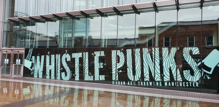 Meet outside Whistlepunks. Located in the Great Northern Atrium near the Odeon ticket office