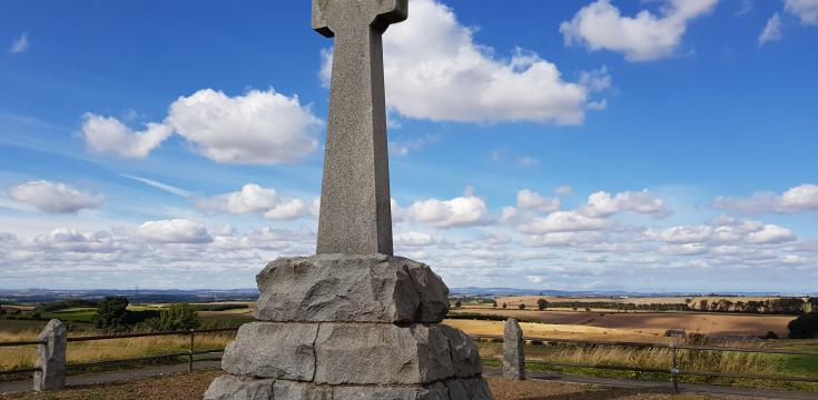 Branxton Flodden Field Cross Taken By Markster