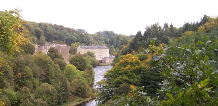 Falls of Clyde - New Lanark Mills