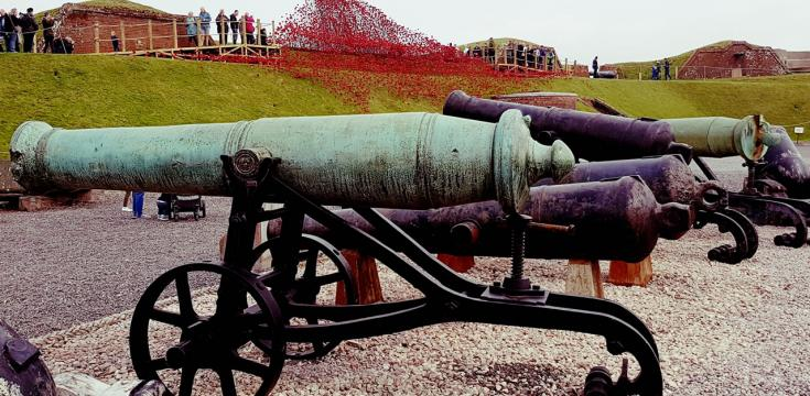 Fort Nelson Guns and Poppies