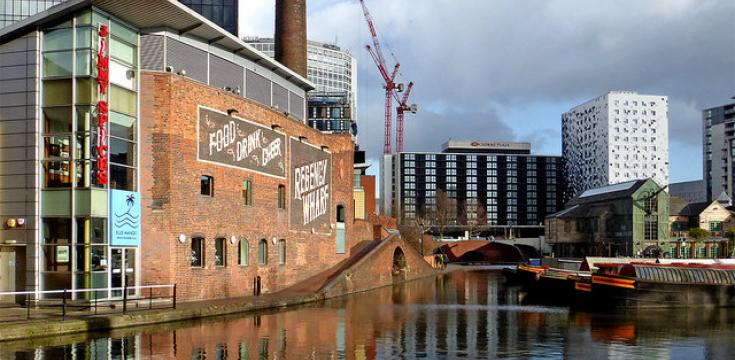 Gas Street Basin in Birmingham