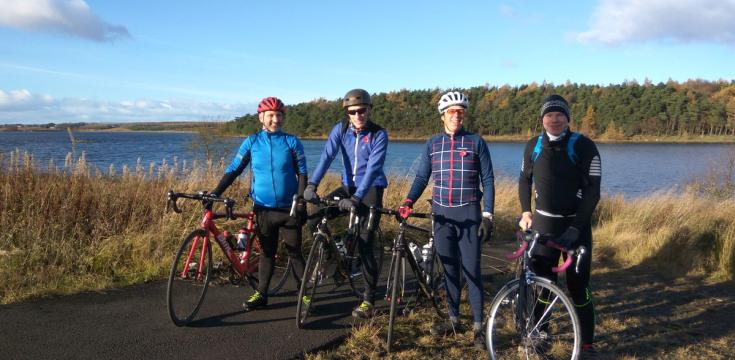ODL Cyclists Hillend Loch