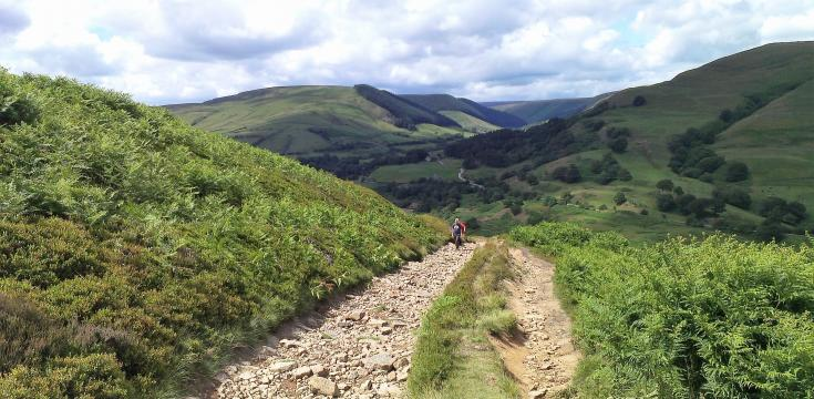 A Peak District bridleway