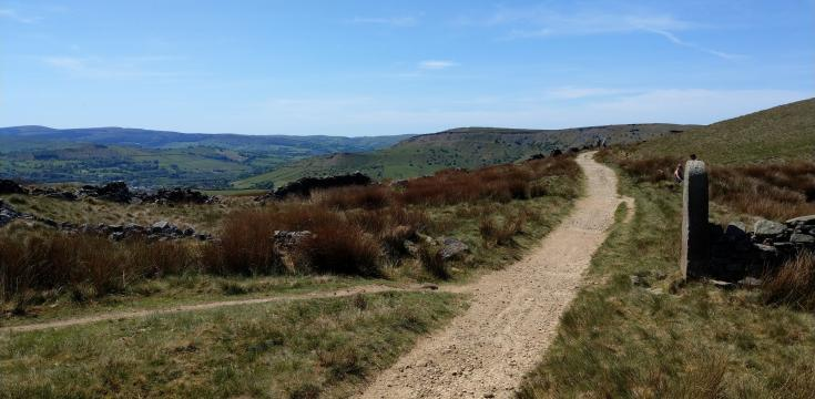 Pennine Bridleway near South Head