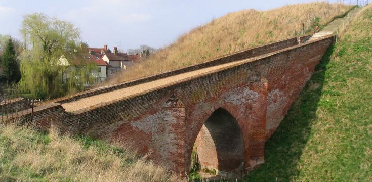 Pleshey Motte Bridge