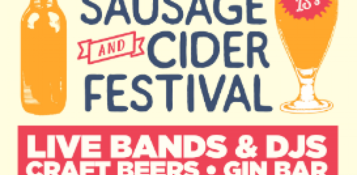 Sausage and Cider Festival Flyer