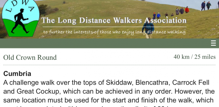 Long Distance Walks Association