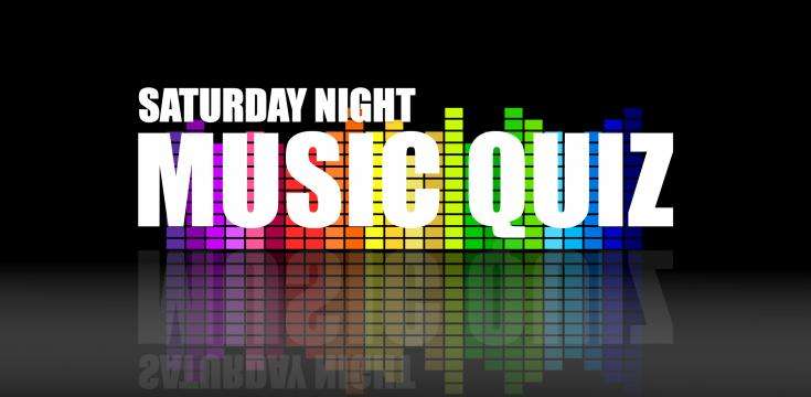 Saturday night music quiz