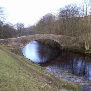 Stainforth packhorse bridge