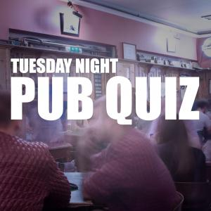 Tuesday night pub quiz