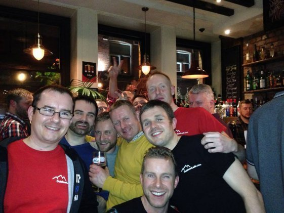OutdoorLads Socials - this one is in a pub